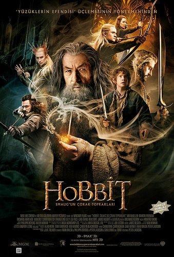 Hobbit: Smaug'un Çorak Toprakları filminden kareler