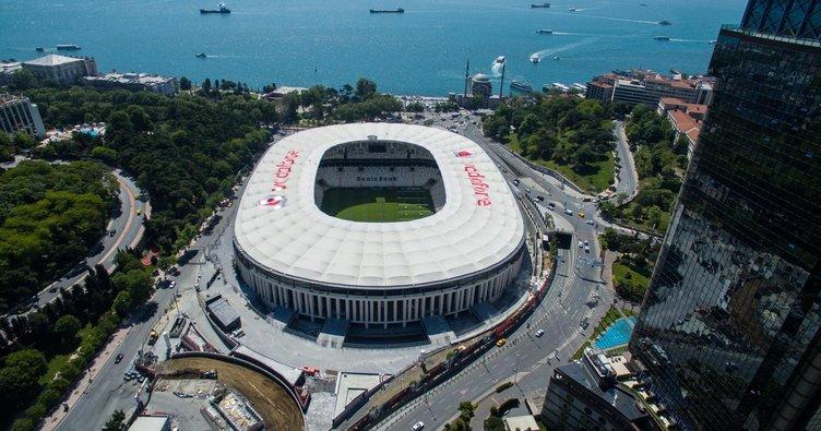 Vodafone Karakartal'lılar sahada bu maçın galibi beşiktaş