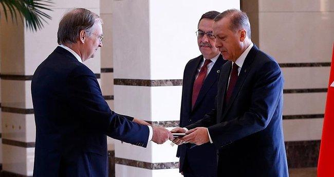 Cumhurbaşkanı Erdoğan AB Türkiye Delegasyonu Başkan Berger'i kabul etti