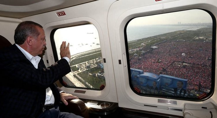 Başbakan Erdoğan'dan tarihi İstanbul mitingi