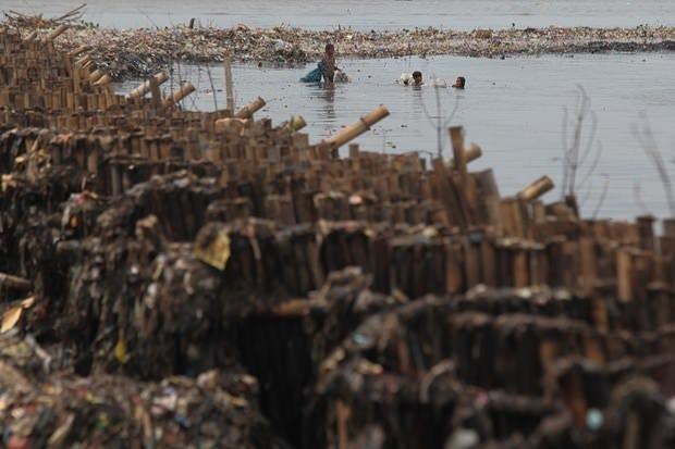 Ekmeklerini denizi temizleyerek kazanıyorlar