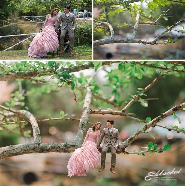 Taylandlı fotoğrafçıdan çılgın fotoğraflar