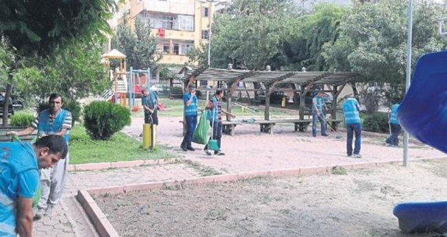 Adana'da hükümlüler kamunun hizmetinde