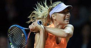 Sharapova galibiyetle döndü!