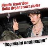 Hande Yener'den Helin Avşar ve Elif Güvendik'e çok sert yanıt