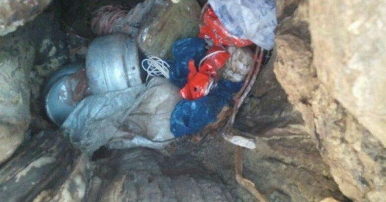 PKK sığınağında patlayıcı ele geçirildi