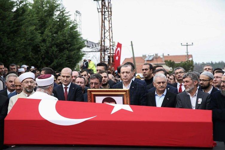 Şehit Kaymakam Safitürk, son yolculuğuna uğurlandı
