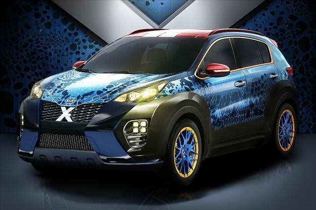 X-Men Temalı Kia Sportage