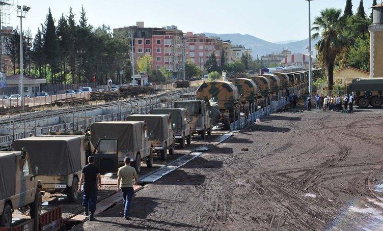 Adana'ya dev sevkiyat