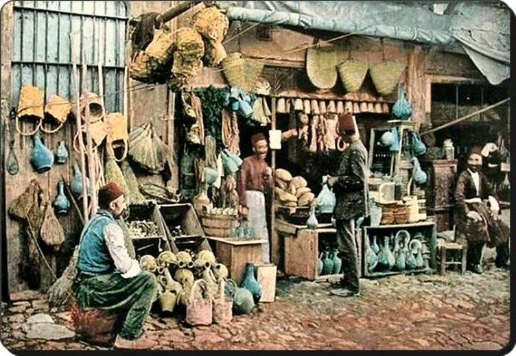 Eski İstanbul'un çalışkan insanları