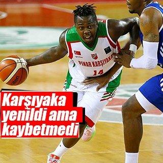 Pınar Karşıyaka 3. sırayı kaybetmedi