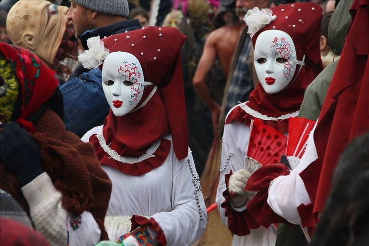 Makedonya'da Vevçani Karnavalı başladı