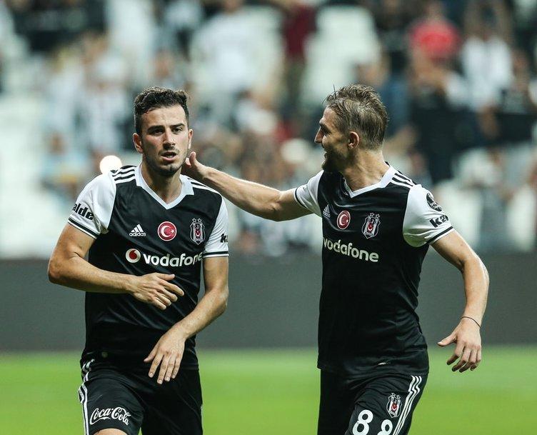 Beşiktaş - Kardemir maçından kareler