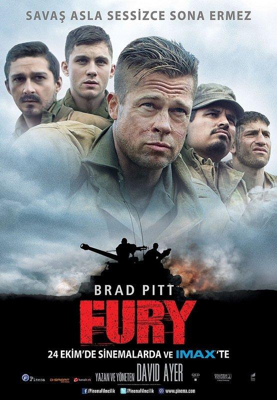 Fury filminden kareler