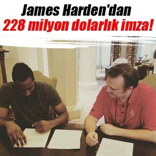 James Harden'dan 228 milyon dolarlık imza!
