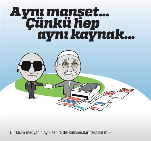 Gülen'in Maceraları karikatür serisi oldu