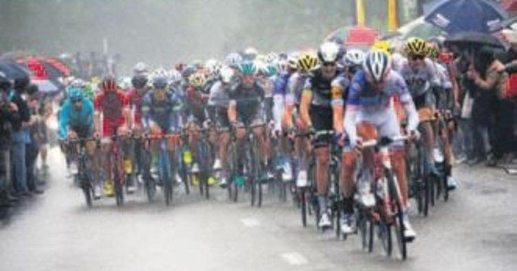 Fransa Bisiklet Turu'nun ikinci etabı Kittel'in