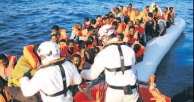 2 bin 200 mülteci daha kurtarıldı