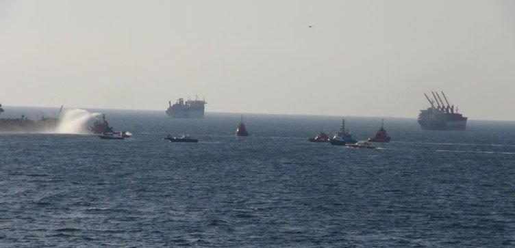 Tuzla'da kimyasal gemide patlama