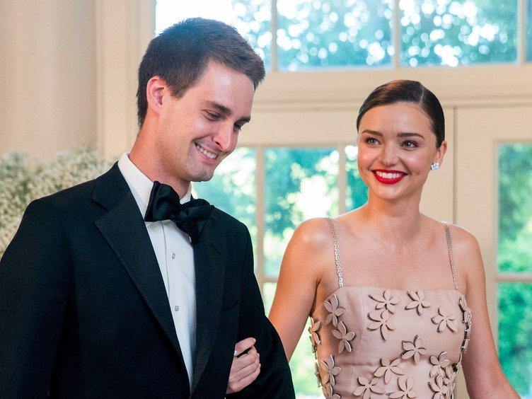 İşte Miranda Kerr'in düğününden ilk kareler
