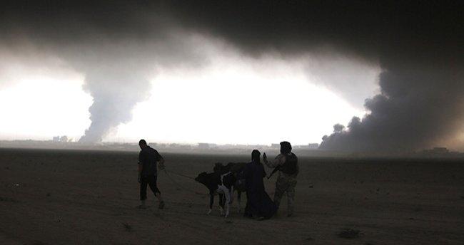 34 bin kişi Musul'u terketti