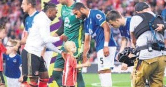 Everton Kulübü'nden unutulmaz bir jest