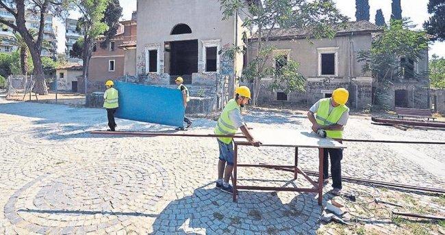 Paterson Köşkü restore ediliyor