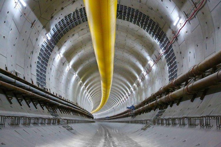 Avrasya Tüneli havadan görüntülendi
