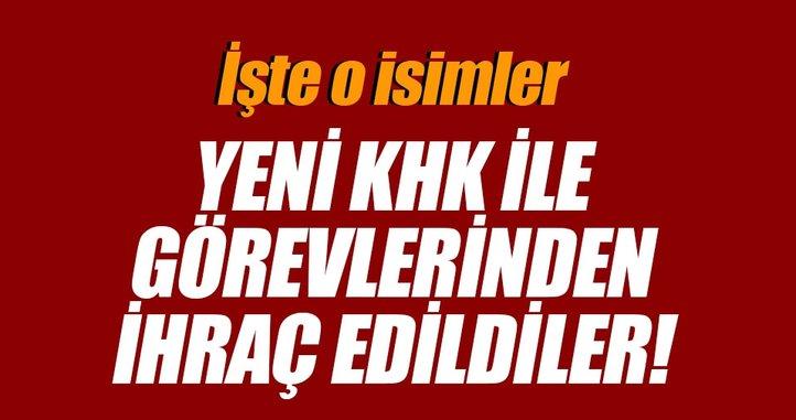 SON DAKİKA: 2 yeni Kanun Hükmünde Kararname (KHK) Resmi Gazete'de yayınlandı!