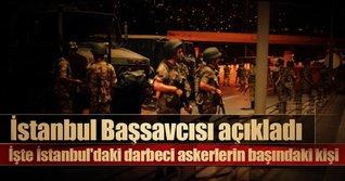 İstanbul'daki darbeci askerlerin başındaki kişiTuğgeneral Aydoğdu