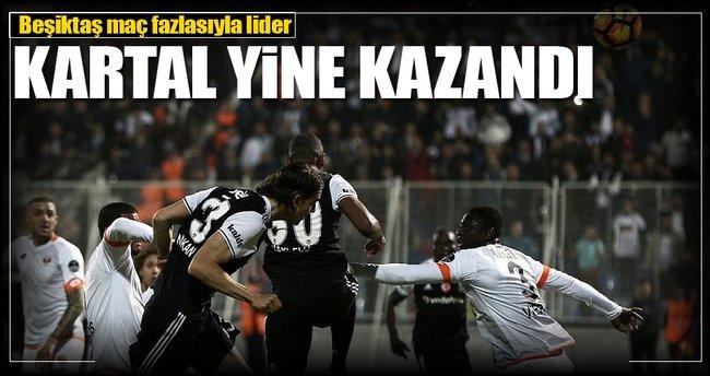 Beşiktaş deplasmanda Adanaspor'u yendi