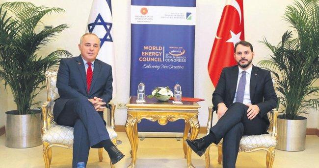 Türkiye-İsrail gaz koridoru