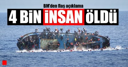 4 bin sığınmacı öldü!