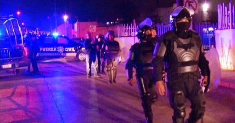 Meksika'da cezaevi isyanı: 7 ölü!