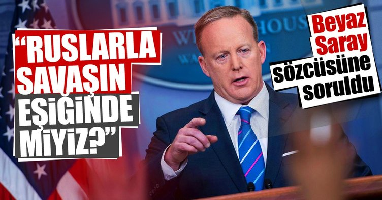 Beyaz Saray Sözcüsü'ne soruldu: Ruslarla savaşın eşiğinde miyiz?
