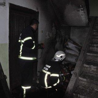 Suriyeli sığınmacıların kaldığı evde yangın!