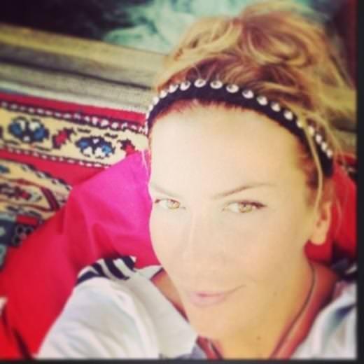 Ivana Sert'in tatil keyfi