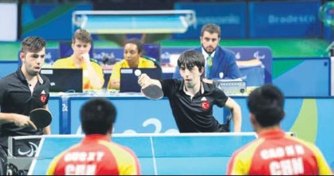 Masa tenisinde 1 madalya daha