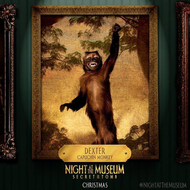 Müzede Bir Gece: Lahitteki Sır filminden kareler