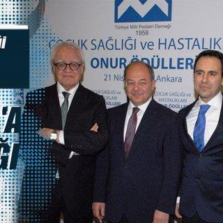 Bakan Akdağ'a çocuk sağlığı onur ödülü