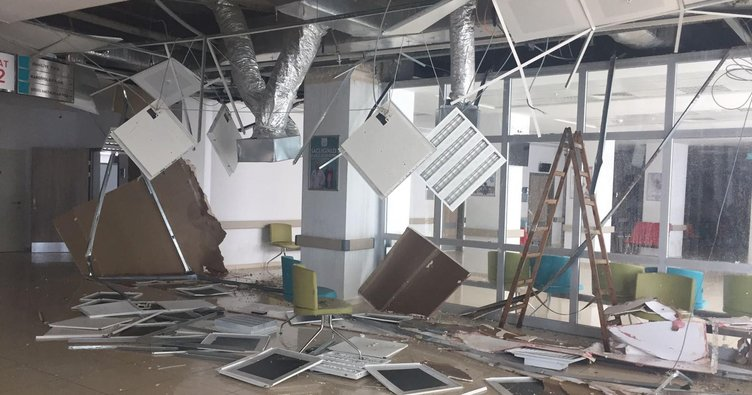 Çerkezköy Devlet Hastanesi'nin çöken tavanı 1 milyon liraya yenilenecek
