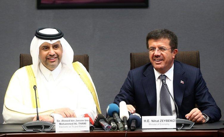 Katar Ekonomi Bakanı'ndan Türk şirketlerine müjde