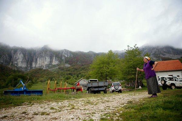 Bosna'da 'bulutlara dokunan' aile