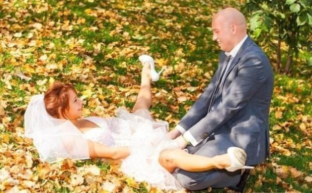 Çiftlerin sıradışı fotoğrafları