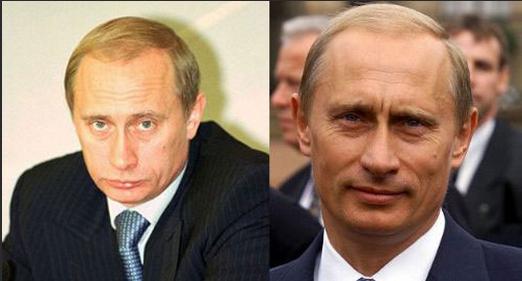 Vladimir Putin'in yüzüne ne oldu?