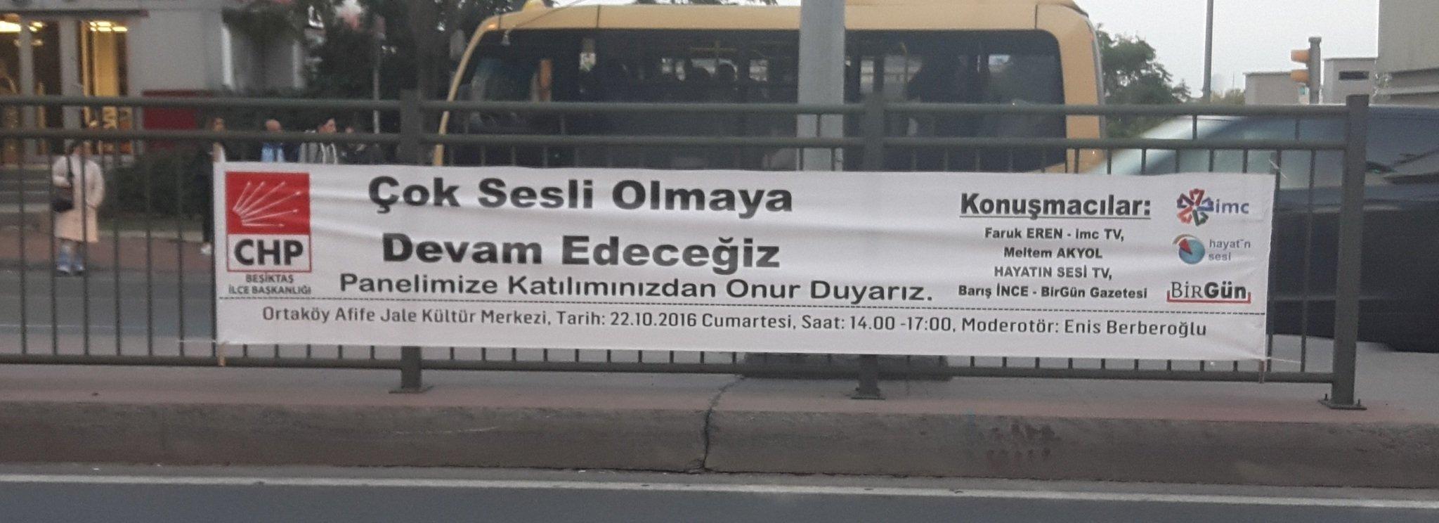 CHP'nin sponsoru PKK'nın sesi