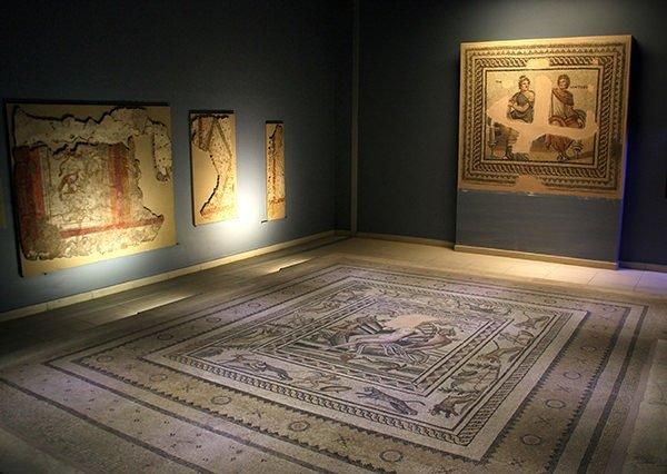 'Mozaikler şehri' bayramda ziyaretçilerini bekliyor