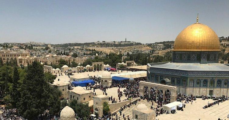 Ürdün'den İsrail'e 'Mescid-i Aksa' uyarısı