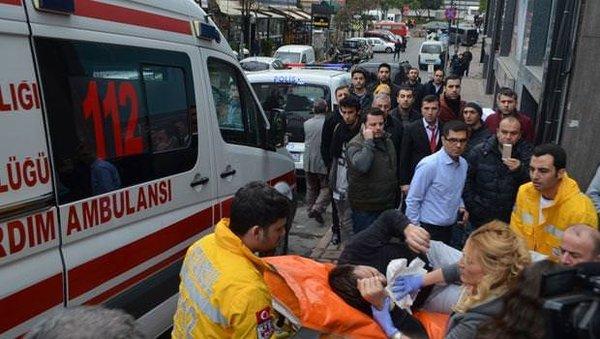 Şişli'de iş merkezinde silahlı saldırı