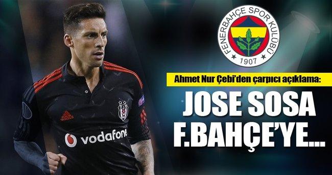 Çebi: Jose Sosa Fenerbahçe'ye...